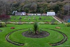 The Victorian Garden of Kylemore Abbey (Nelleke C) Tags: 2017 kylemoreabbey victoriangarden connemara countygalway garden holiday ierland ireland tuin vakantie