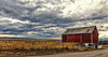 IMG_7396-97Ptzl1scTBbCLGERk (ultravivid imaging) Tags: ultravividimaging ultra vivid imaging ultravivid colorful canon canon5dm2 clouds stormclouds sunsetclouds scenic sky landscape twilight spring earlyspring fields farm barn red rural rainyday road vista pennsylvania pa panoramic painterly
