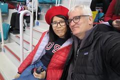 IMG_0597 (Mud Boy) Tags: southkorea rok korea republicofkorea olympics winter winterolympicstripwithjoyce winterolympics the2018winterolympics xxiiiolympicwintergames pyeongchang2018 womensicehockeyfinalusawingoldaftershootoutovercanada clay clayturnerhensley clayhensley joyce joyceshu kwandonghockeycentre officiallyknownasthexxiiiolympicwintergameskorean제23회동계올림픽 translitjeisipsamhoedonggyeollimpikandcommonlyknownaspyeongchang2018 wasaninternationalwintermultisporteventheldbetween9and25february2018inpyeongchangcounty gangwonprovince withtheopeningroundsforcertaineventsheldon8february2018 theeveoftheopeningceremony