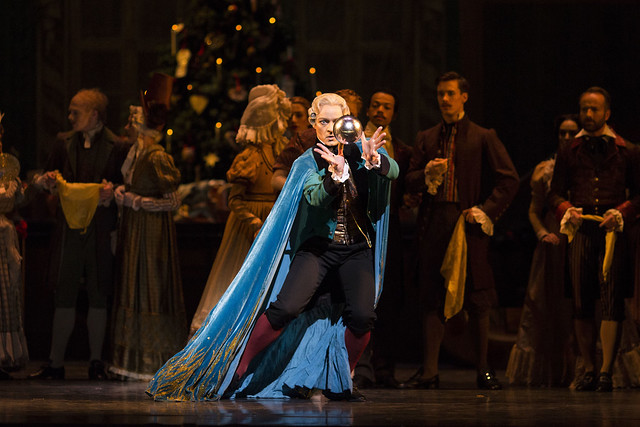 Thomas Whitehead as Drosselmeyer ©ROH 2016. Photographed by Helen Maybanks