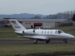 D-INCS Cessna Citation CJ1 Bizair Fluggesellschaft (Aircaft @ Gloucestershire Airport By James) Tags: gloucestershire airport dincs cessna ciation cj1 bizair fluggesellschaft bizjet egbj james lloyds