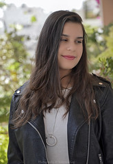 Evi my beauty... (@Katerina Log) Tags: love portrait greece griechenland girl woman outdoor depthoffield bokeh daylight katerinalog face closeup hair look lips beauty smile family sonyilce6500 18105f4 people foliage