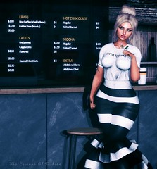 She's Like Cold Coffee In The Morning (Cherry Inventor) Tags: sys catwa 7deadlyskins maitreya neomenia izzies elise minimal hera springflair backdropcity secondlife blog fashion 3d virtual coffee portrait