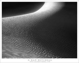 Dunes, Light And Shadow