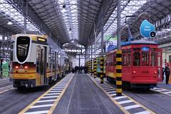 Messina Tram Depot (HungryArtistMadCow) Tags: tram roadcar old history milan milanses italian italy weekend tracks factory depot deposito