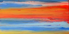 In the morning at the sea (Peter Wachtmeister) Tags: artinformel art mysticart modernart artbrut popart phantasticart minimalart abstract abstrakt acrylicpaint surrealismus surrealism hanspeterwachtmeister