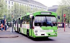 USTRA, Hannover: 8107 at the Hauptbahnhof, route 20 (Mega Anorak) Tags: bus mercedesbenz o305g ustra hannover hauptbahnhof