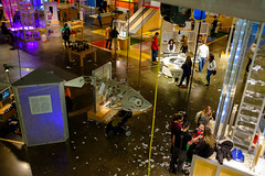 Hanging With the Fishes (stevebirk_) Tags: toronto ontariosciencecentre 2018