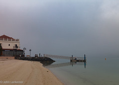 Abu Dhabi fog (Jhopne) Tags: sunrise cloud abudhabi canonef2470mmf28lusm sky fog canoneos5dmarkii mood uae