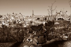 Toledo, Castilla-La Mancha, España. (Caty V. mazarias antoranz) Tags: toledo castillalamancha catedraldetoledo callesdetoledo alcázar toledociudad patrimonio cortedecastilla reyescatólicos puertadebisagra eltajo ríotajo paradordetoledo spain españa elbolsóndeleoncia