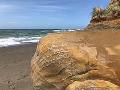 (Gary Sharp) Tags: iphone ocean rockformations beach oregon langlois