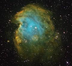 The Monkey Head Nebula (Astro Gabe) Tags: narrowband halpha stars nebula emissionnebula space qsi mach1gto tmb130ss astrometrydotnet:id=nova2530590 astrometrydotnet:status=solved