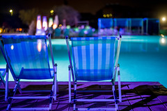 Chill out (mripp) Tags: art vintage retro old blue pool chill out entspannung relax relaxation entspannen leica m10 summilux 50mm