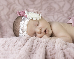 Pink Is For Girls (mztery) Tags: portraits babies newborn aubrielle girls
