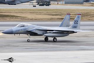 F-15C 80-0012 ZZ 18th WG / 67th FS