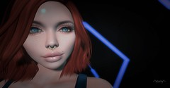 Up close and personal (stellar moonwinder) Tags: avenge dahlia freckles heather poz skinfair truth