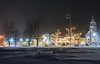 North Conway Village, March 9, 2018 (MWV Chamber of Commerce) Tags: northconwayvillage schoulerpark nighttime newsnow