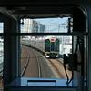 Hanshin line, Osaka to Sannomiya-Kobe (Mark Tindale) Tags: compartment tracks city carriages efficient suburban overhead japanese railway train commuter