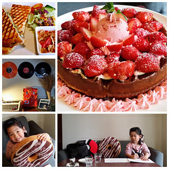 20180315_Tea Time (violin6918) Tags: violin6918 taiwan hsinchu apple iphoto7plus i7 mobile strawberry cake teatime cute lovely littlebaby angel children child pretty princess baby portrait kid daughter girl family shiuan