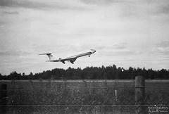RA-65904 Tupolev Tu-134A-3, EFPO, Finland (Sebastian Viinikainen.) Tags: ra65904 tupolev tu134 efpo finland negative film old russia rossiya pori blacknwhite transport takeoff