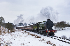 8572 near Eardington (Yardbrush) Tags: svr severn valley railway severnvalley severnvalleyrailway mgn b12 holden 8572 snow eardington teaks lner eastern train travel passenger bridgnorth