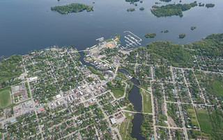 Gananoque from Above