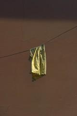 (Kirill Dorokhov) Tags: minimal minimalism contemporaryart contemporary art wall sun spot cloth hanging
