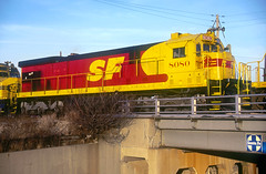 AT&SF C30-7 8080 (Chuck Zeiler) Tags: atsf c307 8080 railroad ge locomotive corwith chicago train chuckzeiler chz