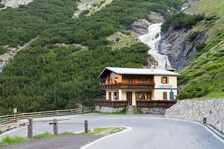 Bar Kiosk Nazionalpark at the Passo dello Stelvio (Stilfser Joch)