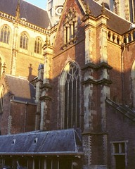 (StayFair) Tags: olympustrip35 fujisuperia cathedral haarlem thenetherlands light sunshine stbavo