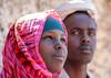Portrait of a somali couple, Woqooyi Galbeed province, Degehabur, Somaliland (Eric Lafforgue) Tags: africa african africanethnicity baligubadle beauty blackethnicity color couple culture degehabur developingcountry documentary eastafrica face female headshot hijab horizontal hornofafrica islam lifestyle man muslim outdoors portrait soma5002 somali somalia somaliland traditionalclothing twopeople veil woman woqooyigalbeed woqooyigalbeedprovince