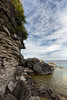 Layered (Mark Heine Photos) Tags: brucetrail rocks beach halfwaylogdump greatlakes ontario cliffs canada brucepeninsula sky markheine niagaraescarpment georgianbay boulders escarpment