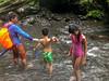 Icy cold water (Stinkee Beek) Tags: lombok adi waterfall erin ethan