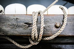 CWB Details (Sniper_Kitty) Tags: centerforwoodenboats nautical dock rope line knot