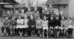 Class photo (theirhistory) Tags: children kids boys girls form group schoolphoto skirt jacket jumper shoes wellies boots