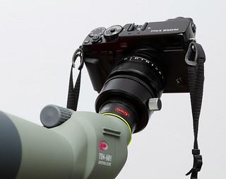 Fujifilm X-Pro2 with 35mm f/1.4 on Kowa TSN-601