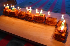 Birthhday vibes (domit) Tags: isaac tonton martin brother home laeken brussels belgium train cake candles