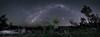 Bush Bow (Steve Paxton WA) Tags: milkyway milkywaybow stars planets trees bush city lights lowlevellighting longeaxposure