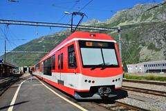 Andermatt 04.08.2017 (The STB) Tags: fo furkaoberalp narrowgauge schmalspuhrbahn schweizereisenbahnen schweizerbahnen dieschweiz swissrailways switzerland