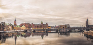 A Unique Perspective of Stockholm's Old Town