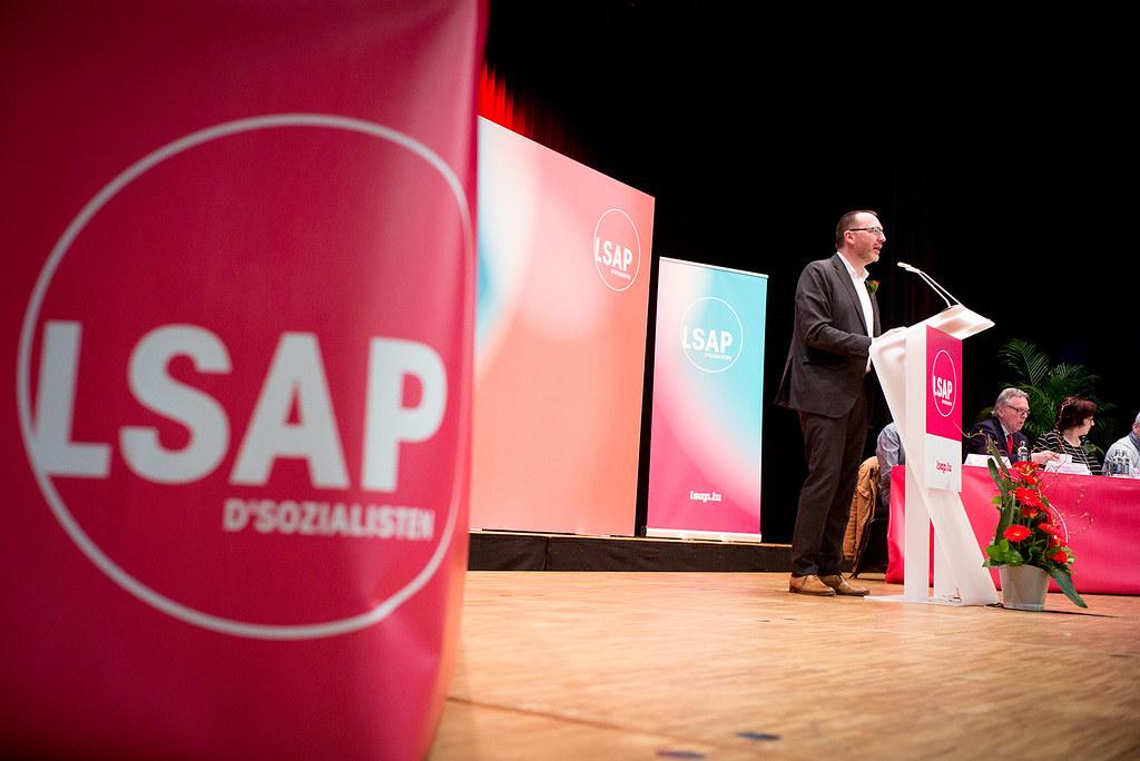 ongrès LSAP à sanem luxembourg le 10.03.2018 ©Christophe Olinger