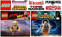 Top 10 Lego Polybags That Need to Be Made !!! (afro_man_news) Tags: lego moc custom fake minifigures minifigure polybags must wacth all christo wreckit ralph frozone gambit lara croft maestro punisher wasp vision whiplash marvel dc superheroes batman incredibles ant man infinity war tomb raider top 10