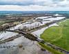 37175 at Lea Marston (robmcrorie) Tags: 37175 colas rail class 37 test train warwickshire flood river tame lea marston phantom 4 railway