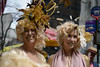 Easter Parade & Bonnet Festival (Samicorn) Tags: nikon nyc manhattan 5thavenue fifthavenue newyorkcity midtown easter parade bonnetfestival festival hats costume flowers gold golden