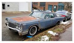 Continental on Melwood (real00) Tags: pittsburgh oldautomobile vintage explore