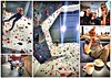 Awesome time.. (Mike-Lee) Tags: climb climbing leadclimbing awesomewalls sheffield april2018 mike gareth collage picasa routes cuppincino tea ropes