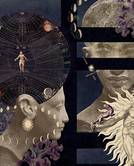 seeding consciousness (yumikrum) Tags: yumikrum collage art surrealism cosmic mind thought gnosis occult esoteric consciousness psychology transformation dna human evolution creation alien et influence brain eden god power anu anunnaki universe knowledge potential