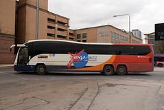 SW 54105 @ Glasgow Buchanan Street bus station (ianjpoole) Tags: stagecoach fife volvo b13rt plazton elite sp61cxa 54105 glasgow buchanan street bus station