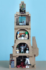 Saw Gerrera HQ rear view (as built) (graeme.watson) Tags: lego star wars saw gerreras hideout moc rogue one the catacombs cadera jeddah
