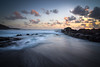 A lanzarote Sunset (janinelee66) Tags: lanzarote sunset clouds waves longexposure ocean rocks sand beach holiday light
